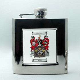 Square Hip Flask
