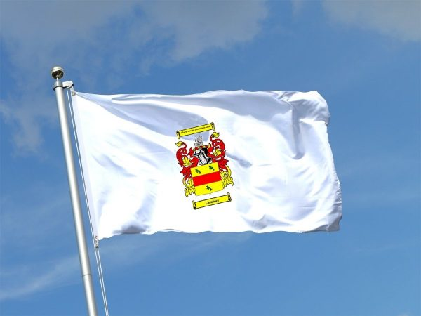 FLAG WITH COA LAMBLEY
